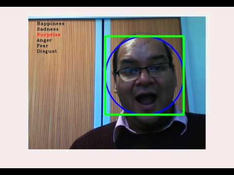 Real time facial expressions recognition