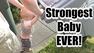 We Have The Strongest Baby In The World!