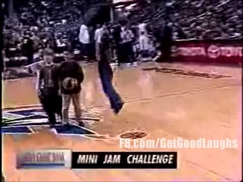 Funny Kids Best Dunk Contest at Washington Wizards Game