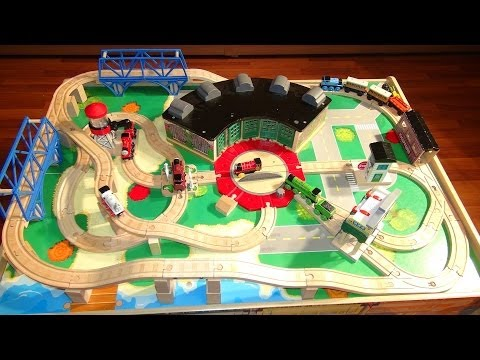 Thomas and Friends Train Table.  like at Chapters or TOYSRUS with all the track and Trains demo
