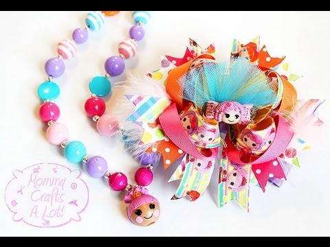 Chunky Bubblegum bead necklace tutorial (HOW TO)