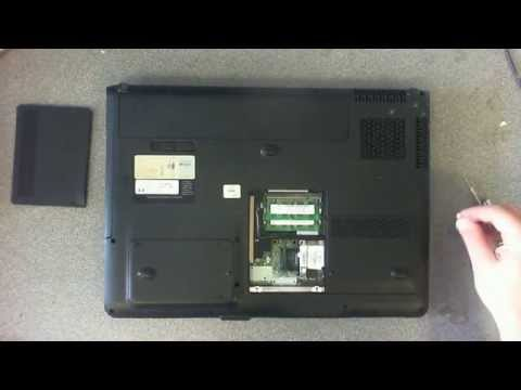 Laptop Repair HP Pavillion dv9000 cmos Battery Replacement.wmv