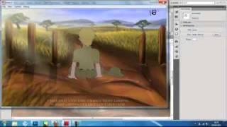 Flash animation tutorial- Backgrounds