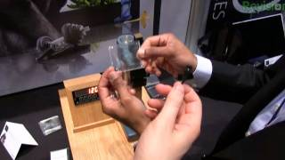 Gorilla Glass Demo at CES 2012
