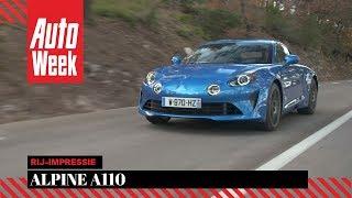 Alpine A110 - Rij-impressie - English subtitles