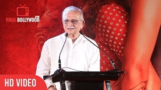 Gulzar Full Speech | Mirzya Music Grand Launch