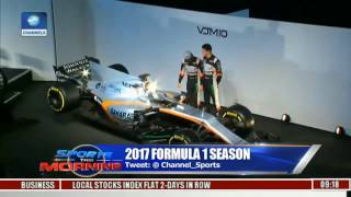 Sports This Morning: New Force India Unveils New Car For 2017 Formula One Season