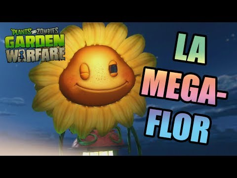 PLANTS VS ZOMBIES GARDEN WARFARE | LA MEGA FLOR | GAMEPLAY XBOX 360 klip izle