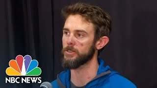 Watch live: Colorado runner who killed mountain lion speaks