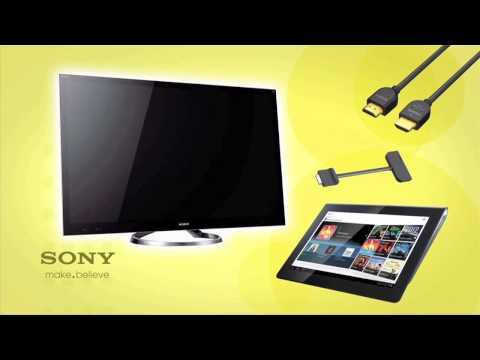 Como conectar HDMI en su Sony XPERIA™ Tablet S