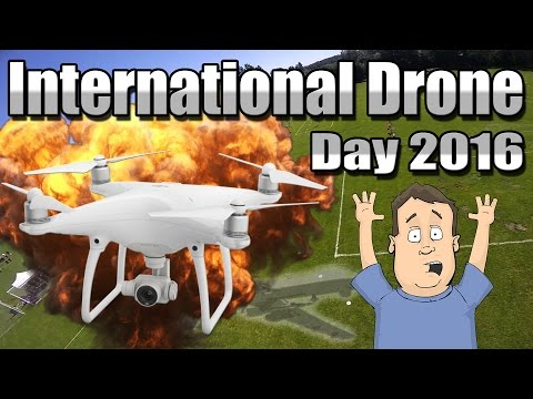 FPV Drone Racing, Demos & More @ International Drone Day 2016