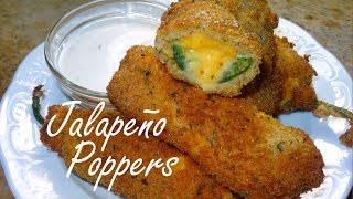 Jalapeño Poppers like Jack in the Box....Sort of :)