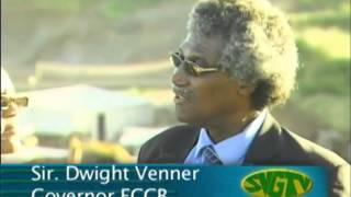 Remarkable Progress on Airport: Sir Dwight Venner