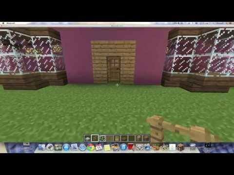 Como hacer la Casa de los Simpsons en Minecraft 1.6.2 (Parte 2)
