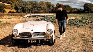 Experiencing A £2Million BMW 507 roadster! ft Queen B