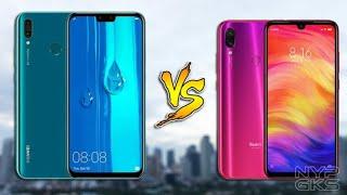 بەراوردی نیوان Redmi Note 7 Vs Huawei Y9 2019