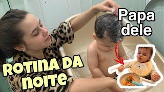 ROTINA DA NOITE + PAPINHA DO BEBÊ (dicas)