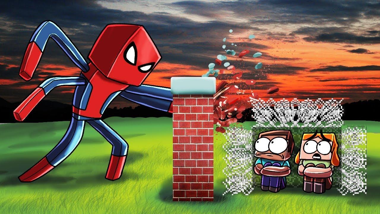 Minecraft | SPIDERMAN.EXE BASE CHALLENGE! (Base vs Spiderman.exe)