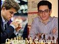 Fabiano Caruana vs Magnus Carlsen: World Blitz Championship 2010