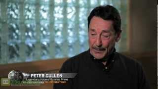 TRANSFORMERS Fall of Cybertron - Peter Cullen Voice Cast (Behind The Scenes) HD