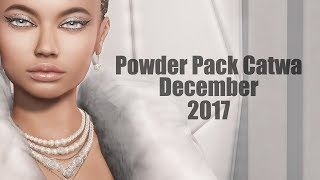 Powder Pack Catwa December 2017 - Unboxing Video - Second Life Subscription Box