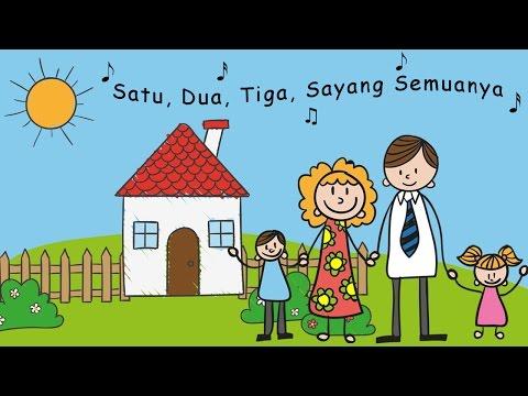 Satu Satu Aku Sayang Ibu - Lagu Anak-Anak Indonesia Populer