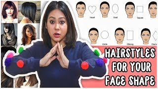 BEST HAIRCUT TO SUIT YOUR FACE SHAPE: Round, Oval, Heart, Square-How To Pick| ThatQuirkyMiss