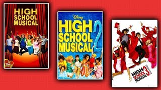 """Watching All 3 """"HIGH SCHOOL MUSICAL"""" Movies For First Time!"""