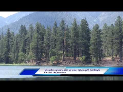 Pine Valley Utah Wild Fire