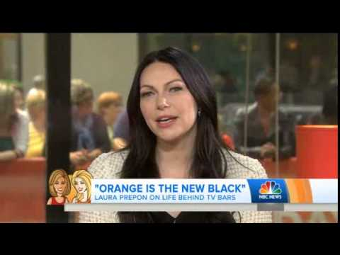 Orange is the New Black's Laura Prepon on the Today Show June 10th