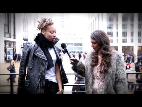 NewYork Fashion Week: Street Style - Sophisticated