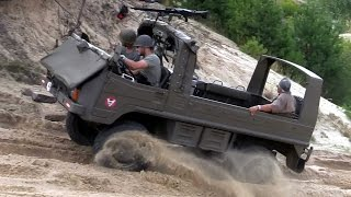 Perfect offroad - Army Pinzgauer Light Utility Vehicle 4x4