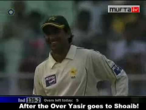 Shoaib Akhter Using Desi Language video