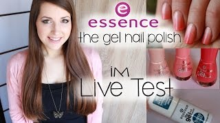 "essence ""The Gel Nail Polish"" 