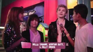 Bella Thorne, Kenton Duty & Billy Unger Interview Part 1