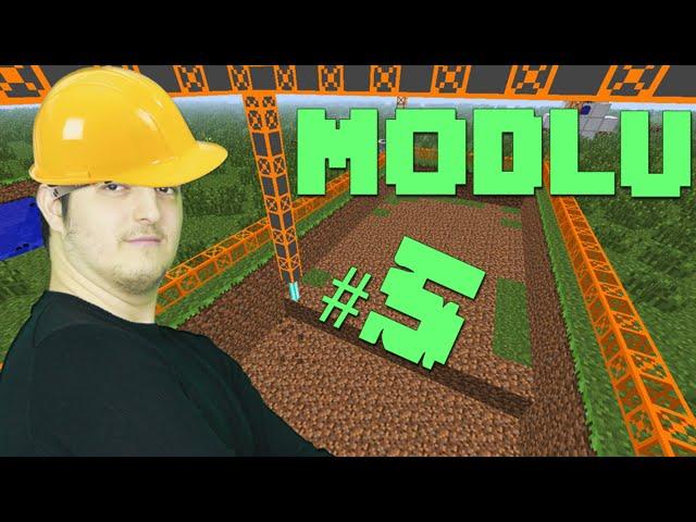 Modlu Minecraft #5 - BuildCraft'a Giriş ve Petrol