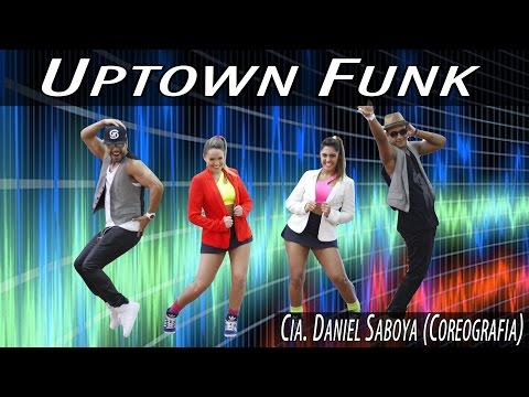 Mark Ronson Ft. Bruno Mars - Uptown Funk Cia  Daniel Saboya Coreografia video