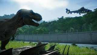 Rediff 19/06 - Isla Nublar vs T-Rex  ! - Jurassic World Evolution