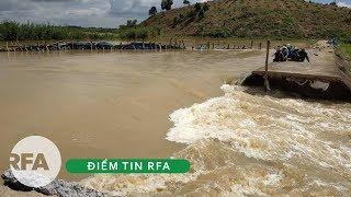 Điểm tin RFA  | Đê bao tại xã Quảng Điền, huyện Krong Ana, tỉnh Dak Lak bị vỡ