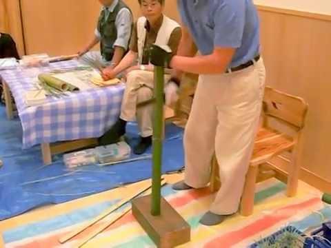 竹細工のかざぐるま・2