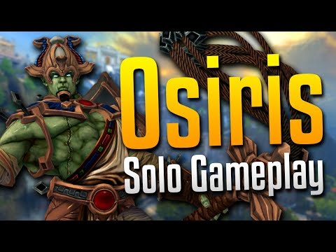 Smite: Give Me a Real Lane Opponent...- Osiris Solo Gameplay