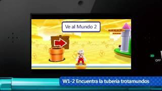 Super Mario 3D Land - (Nintendo 3DS) - Secretos y desafíos I