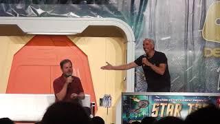 Rainn Wilson AKA Harry Mudd at the 2018 Star Trek Convention