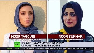 US-Muslim activist misidentified as Pakistani actress by Vogue