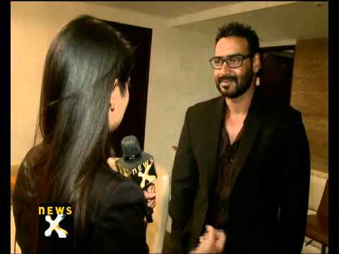 Newsx Exclusive: Ajay Devgan Goes 'tezz' - Newsx video