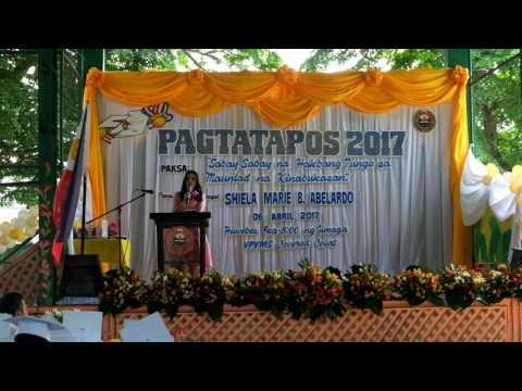VPVMS Elementary Graduation - Guest Speaker 2017