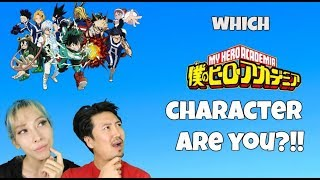 Which My Hero Academia Character Are You Challenge! Kimchi Tofu