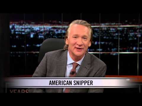 Real Time With Bill Maher: Web Exclusive New Rule - American Snipper (HBO)