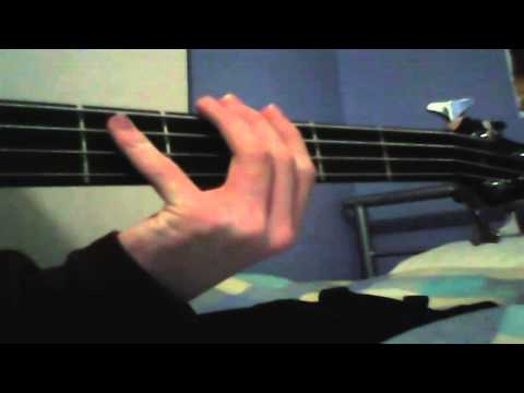 How To Play Yugioh Theme Song On Bass Tutorial video