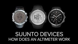 How does an altimeter work